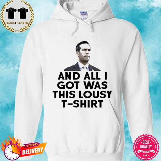 And all I got was this lousy t-s hoodie