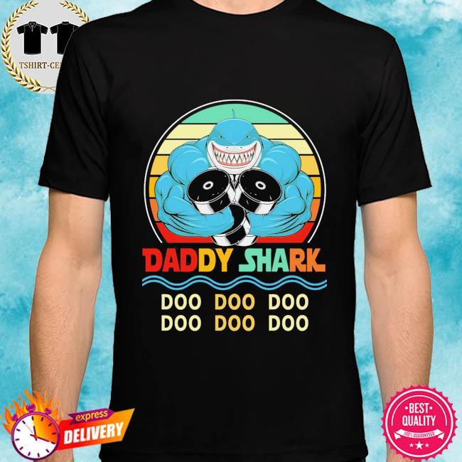 Daddy shark doo doo doo vintage shirt